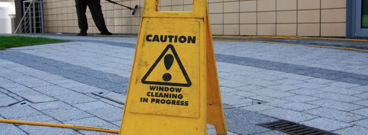 health and safety in window cleaning