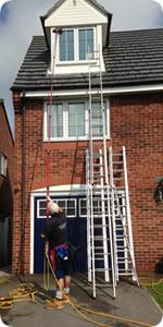 reach and wash is a safer window cleaning method