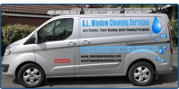 AL Window Cleaning in action